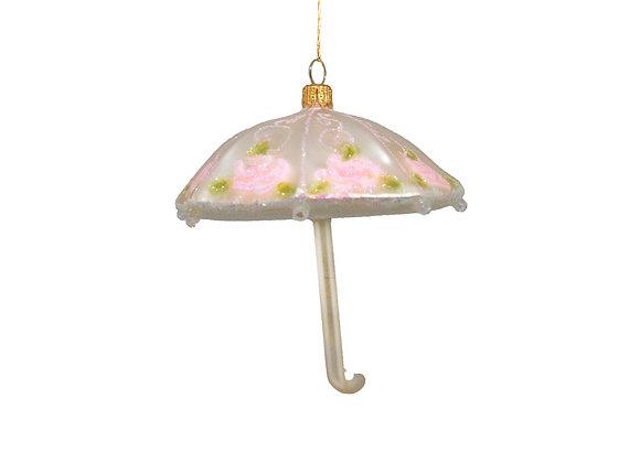 Ombrellino con fiori / Umbrella with flowers