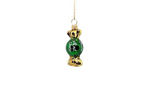 Caramella verde e oro / Green and gold candy