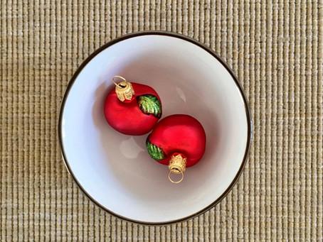 La mela, il frutto del Natale