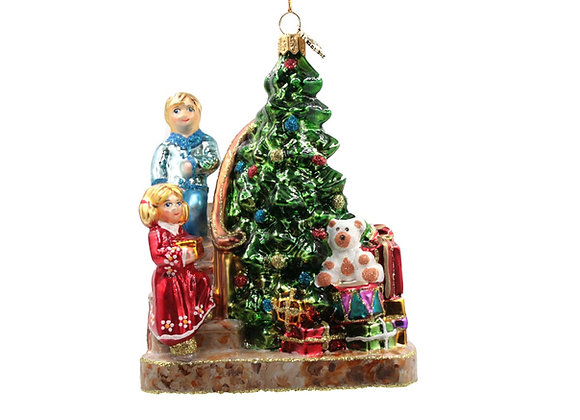 Albero con bambini / Christmas tree with children
