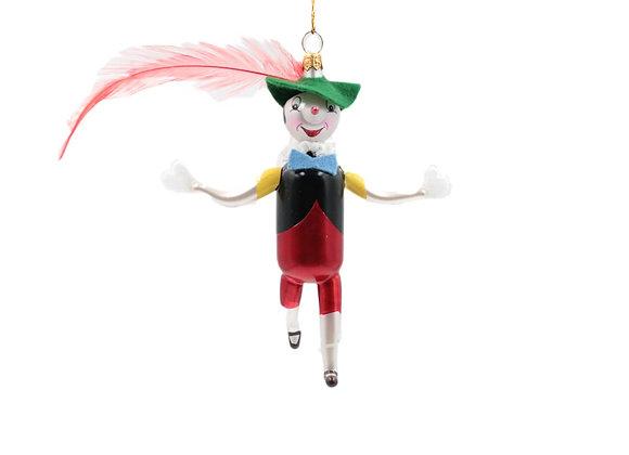 Pinocchio con piuma / Pinocchio with feather