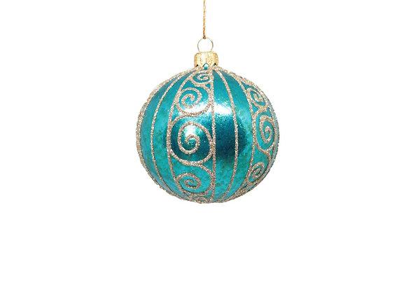 Sfera turchese / Turquoise sphere