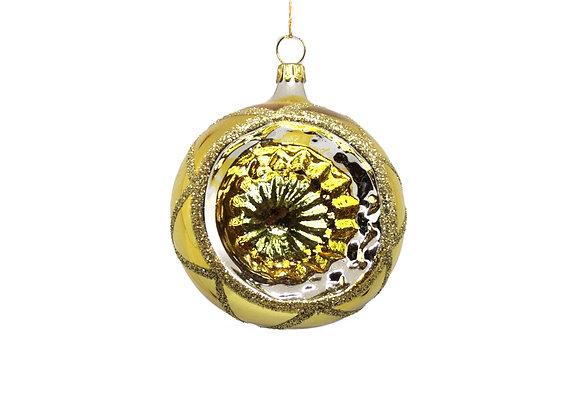 Sfera reflector oro / Gold reflector sphere