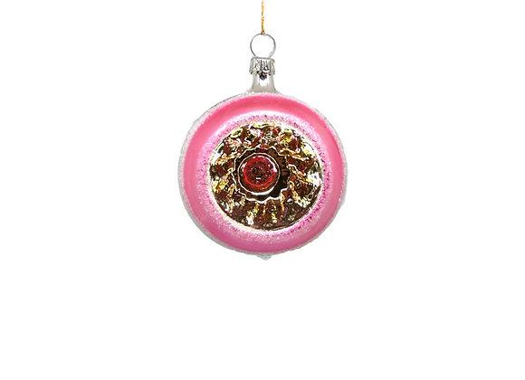 Sfera reflector rosa / Pink reflector sphere