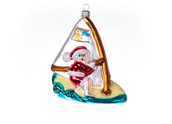 Babbo con windsurf / Santa with windsurf