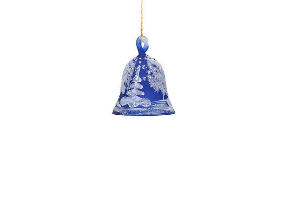 Campana paesaggio piccola blu / blue small bell