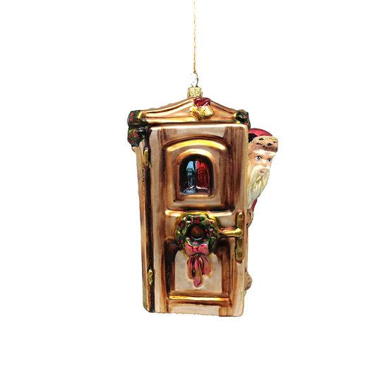 Babbo alla porta / Santa at the door