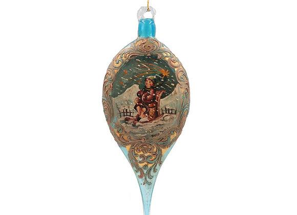 Goccia Murano Turchese / Turquoise Muran Drop