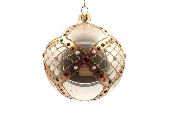 Sfera bianco antico / Vintage white sphere
