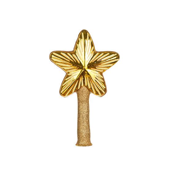Puntale stella oro / Golden Star Tree Topper