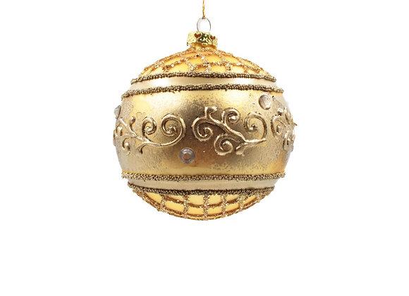 Sfera oro antico / Antique gold sphere