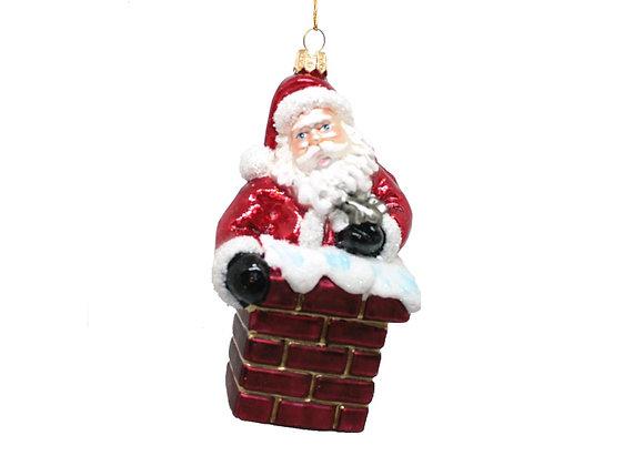 Babbo nel camino / Santa in Chimney