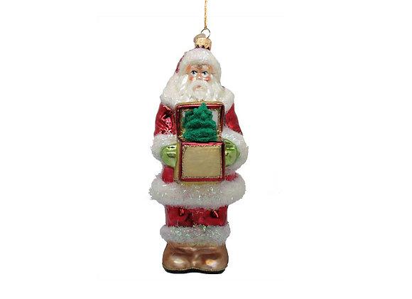 Babbo con regalo / Santa with present