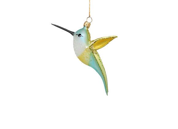 Colibrì giallo e verde / Yellow and green hummingbird
