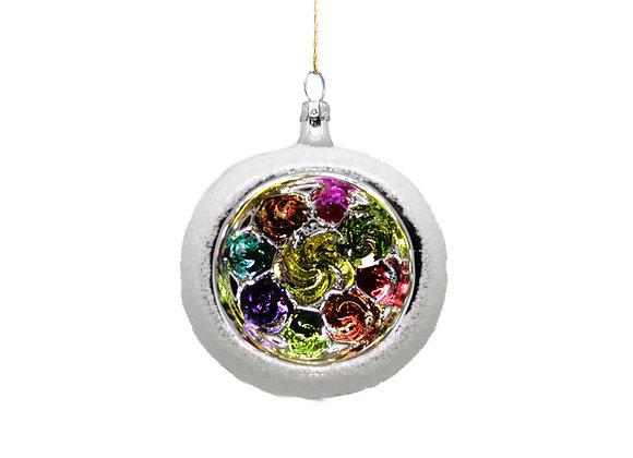 Sfera reflector multicolor / Multicolor reflector sphere