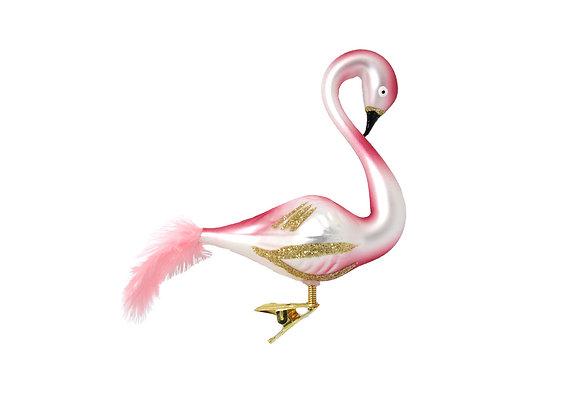 Fenicottero con clip/ Flamingo with clip