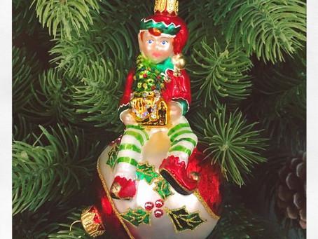 La pigna e l'Elfo del Natale