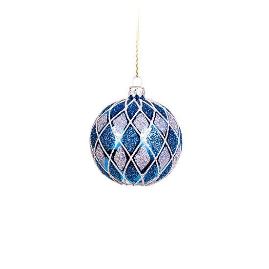 Sfera blu optical grande / Big blue optical ball