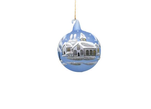 Sfera piccola con paesaggio / Small winter landscape sphere