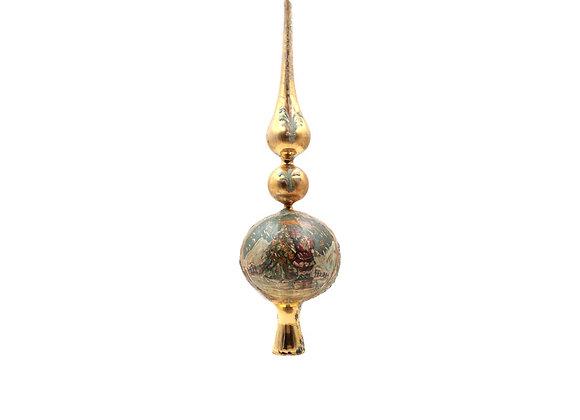 Puntale Murano stile antico / Murano glass topper