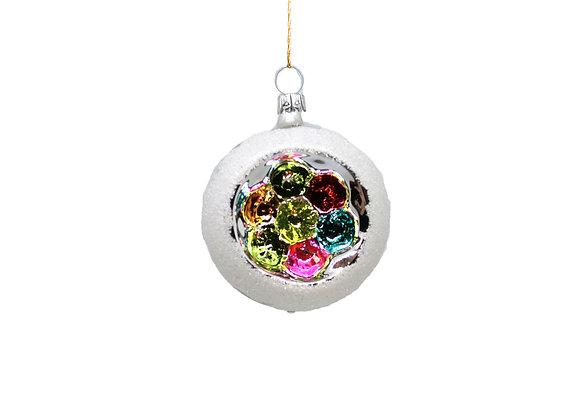 Sfera reflector multicolor piccola / Small multicolor reflector