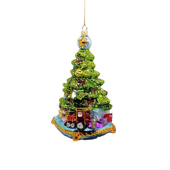 Albero su cuscino / Christmas tree on pillow