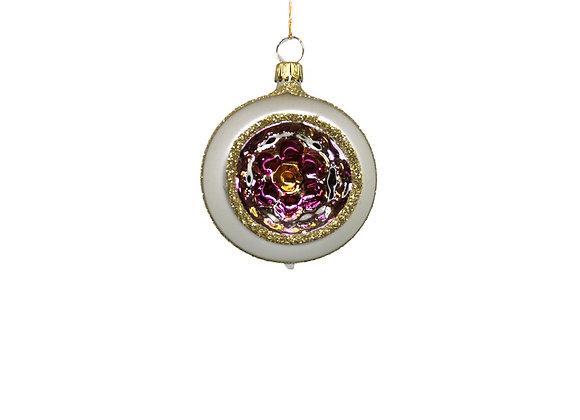 Sfera reflector fiore / Flower reflector sphere