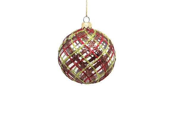 Sfera tartan / Tartan sphere