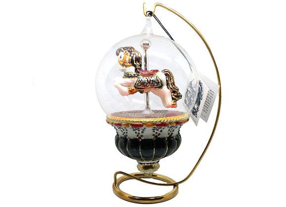 Cavalluccio in sfera / Horse in dome