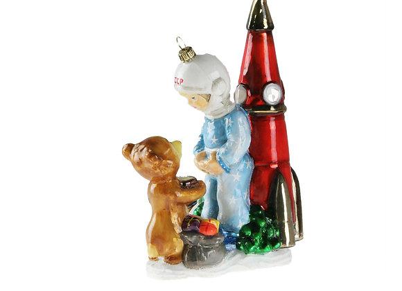 Orsetto e cosmonauta / Teddy with cosmonauts