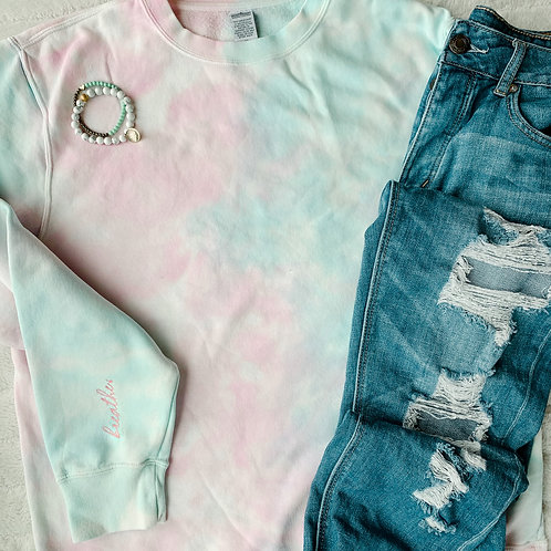 Cozy Tie-Dye Sweatshirt
