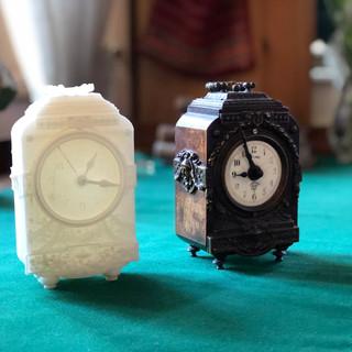 miniature grandfather clock