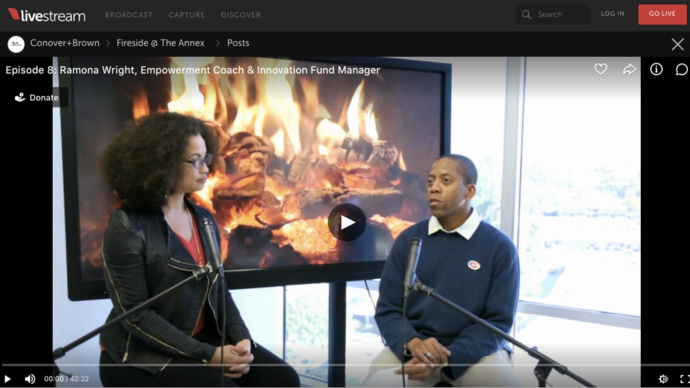 Fireside Chat with Empowerment Coach Ramona Wright @ The Annex