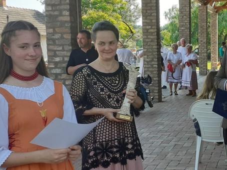 Gyuris Enikő lett az év ifjú zsombói művésze 2020-ban