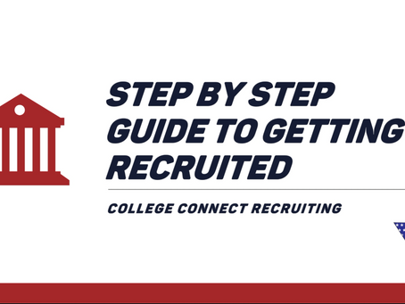 Step by step guide to getting recruited