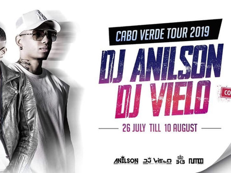 DJ Vielo DJ Adilson tour CV🇨🇻