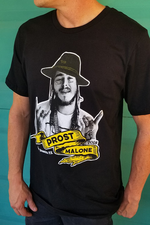 PROST MALONE SHORT SLEEVE TEE