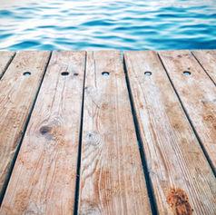 In See gestochen: Floßbau