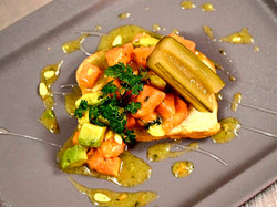 Avocado Papaya Salat
