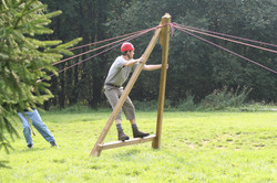 Low Rope - Teamübung