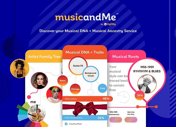 Musical DNA + Traits Service
