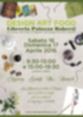 DESIGN ART FOOD A PALAZZO ROBERTI