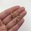 Thumbnail: Cross Charm Earrings