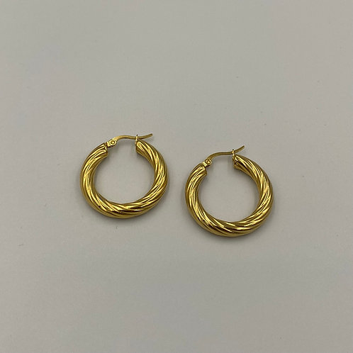 North Twisted Hoops 30mm