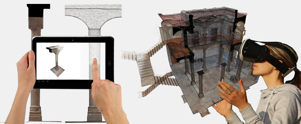 Virtual Reality applied in heritage
