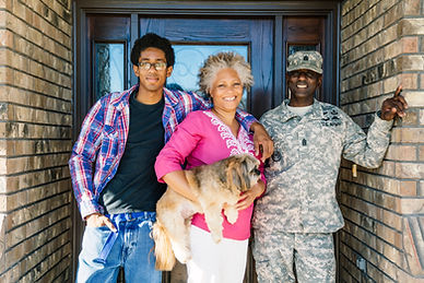 Family with Veteran Son