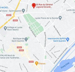 Saint-Quentin test psychotechnique du permis de conduire