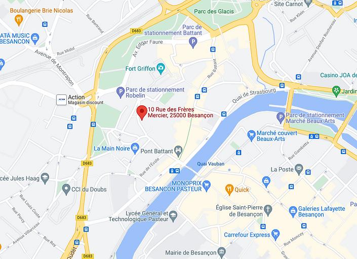 Besançon test permis de conduire