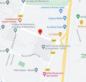Bastia test permis de conduire