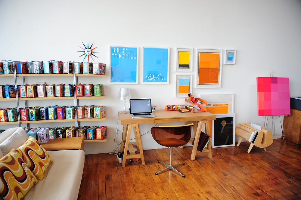 Example of home office for start up business